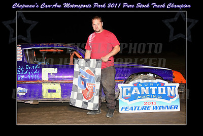 pure stock track champ with border