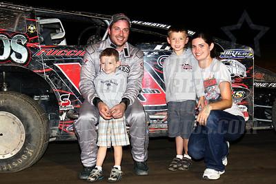 sportsman track champ family photo