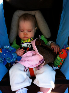 Time for a snooze while we wait for Daddy