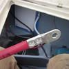 Brand new tinned 2/0 windlass wiring (2011).