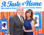 Bill Bratton, Ricki Klieman attend A TASTE OF HOME: 26th Annual Chefs'Tribute to CITYMEALS-ON-WHEELS on Monday, June 13, 2011 at Rockefeller Center Plaza, New York City, NY  PHOTO CREDIT: ©Manhattan Society.com 2011 by Christopher London