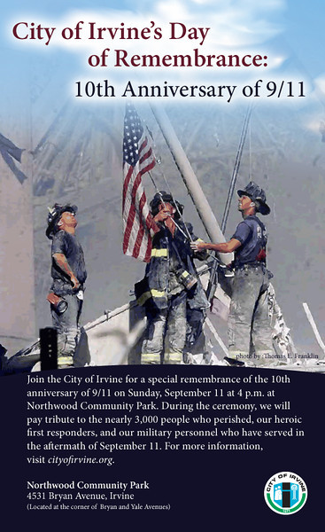 9/11 Ten Year Remembrance Ceremony