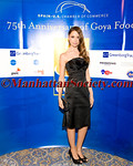 Almudena Fernandez attends SPAIN U.S. CHAMBER OF COMMERCE CELEBRATION OF GOYA FOODS 75th ANNIVERSARY at A Posthumous Tribute Honoring Mr. Franciso Unanue, Founder of Goya de Puerto Rico (Goya Foods) and The Spain-U.S. Chamber of Commerce on Tuesday, October 4, 2011 at The Pierre Hotel, 2 East 61st Street, New York City, New York PHOTO CREDIT:©Manhattan Society.com 2011 by Gregory Partanio