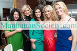 Susan Shin, Ainsley Earhardt, Kimberly Guilfoyle, Tracy Stern and Alex McCord attend SALON TEA: A Private Viewing of R.S. DURANT JEWELRY to Benefit SFK: Success For Kids on Tuesday, February 22, 2011 at Manhattan Residence of Salon Tea Founder Tracy Stern, New York City, NY (PHOTO CREDIT: ©Manhattan Society.com 2011)