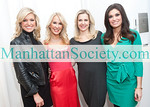 Ainsley Earhardt, Tracy Stern, Cheryl Casone and Kimberly Guilfoyle attend SALON TEA: A Private Viewing of R.S. DURANT JEWELRY to Benefit SFK: Success For Kids on Tuesday, February 22, 2011 at Manhattan Residence of Salon Tea Founder Tracy Stern, New York City, NY (PHOTO CREDIT: ©Manhattan Society.com 2011)