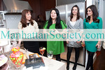 Sharon Bridbord, Susan Shin, Melissa Foss, Kimberly Guilfoyle attend SALON TEA: A Private Viewing of R.S. DURANT JEWELRY to Benefit SFK: Success For Kids on Tuesday, February 22, 2011 at Manhattan Residence of Salon Tea Founder Tracy Stern, New York City, NY (PHOTO CREDIT: ©Manhattan Society.com 2011)