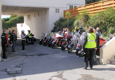 Arriving at the Royal Hotel