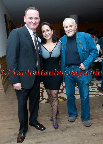 "Jim Martin, Sandra Sanches, Henry Buhl attend A.C.E. Junior Committee ""First Annual Spring Soiree"": on Friday, April 8, 2011 at the Crosby Street Hotel, 79 Crosby Street, New York City, NY PHOTO CREDIT: Copyright ©Manhattan Society.com 2011 by Christopher London"
