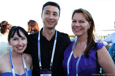 Fleur Ritchie, Byron Wooden and Sharyn Ross (Certain Software)