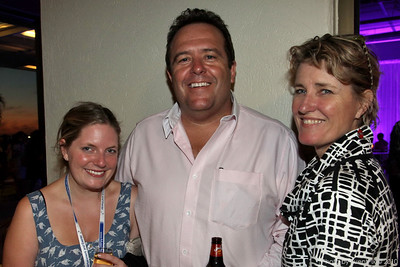 Isabelle Healy (World Corporate Travel), Kenneth Yardy (Lion Corporation), Claire Oxlade (NSW Business Chamber)
