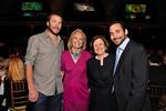 Bodie Miller, chair Connie Spahn, Museum President Ellen V. Futter, and Kirk Spahn