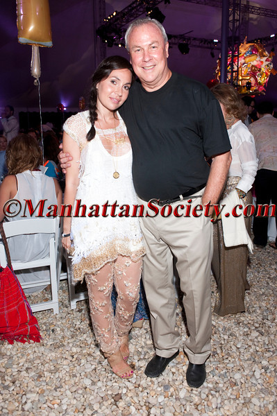 """Fabiola Beracasa, Robert Wilson attend """"Voluptuous Panic"""", The 18th Annual Watermill Center Summer Benefit Gala on Saturday, July 30, 2011 at The Watermill Center, 39 Watermill Towd Road, Water Mill, New York  PHOTO CREDIT: ©Manhattan Society.com 2011"""