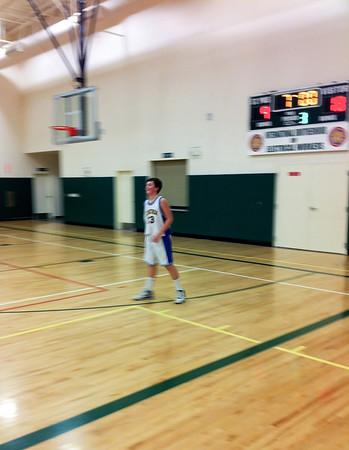 Adam Playing Basketball