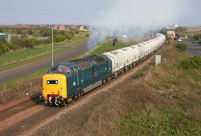 55022 Freemans Crossing 19/04/11 6N69 to Lynemouth