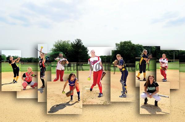 All-Area Softball Poster 2011