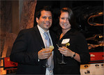 Mario Biancamano and Katie Clous