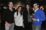 Steering Committee members Alexander Kamins and Kylie Davis, and friends