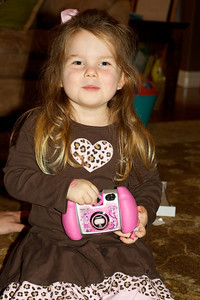 Her first camera!
