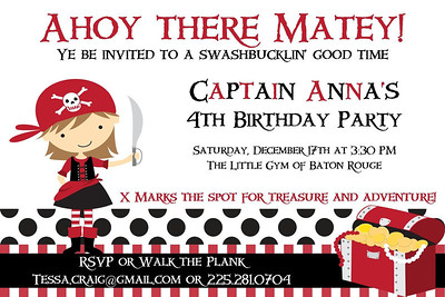 The party invitation