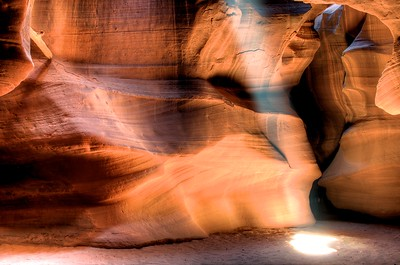 Antelope Canyon near Page, AZ - Processed using Photomatix and Aperture