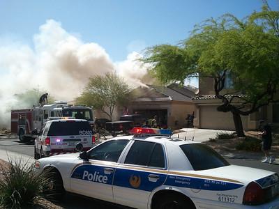 April 15 - 4304 E Desert Sky, Phoenix - 1st Alarm House Fire