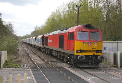 60011 Midgham 13/04/11 6C74 Theale to Whatley