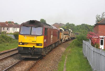 60040 Eastleigh 29/04/11 6V41 Eastleigh to Westbury