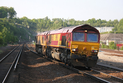 66135 Micheldever 30/04/11 with 66142
