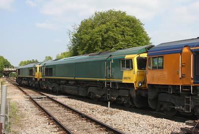 66574 Basingstoke 28/04/11 0O74 Dagenham to Eastleigh
