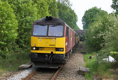 60040 Chandlers Ford 29/04/11 6V41 Eastleigh to Westbury