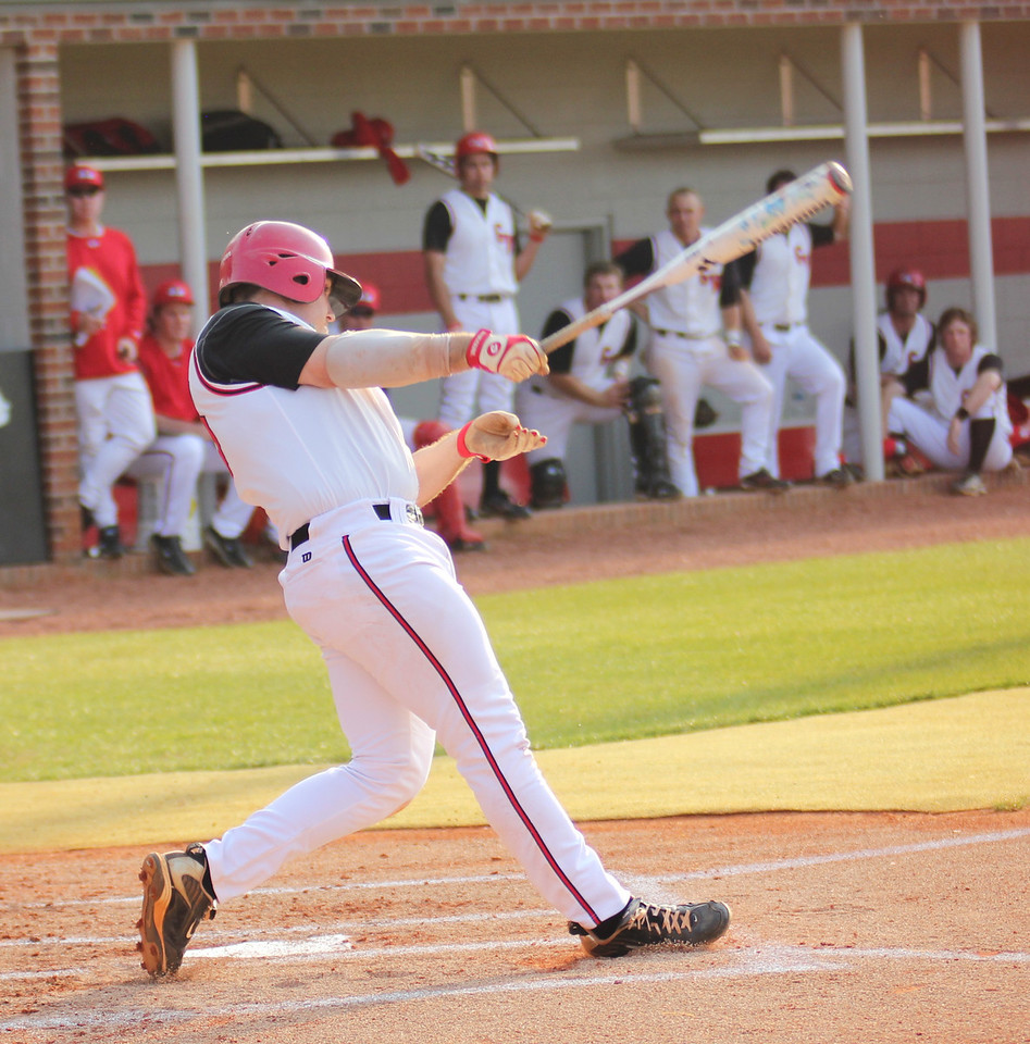 #15 Dusty Quattlebaum steps up to the plate against Charleston Southern.
