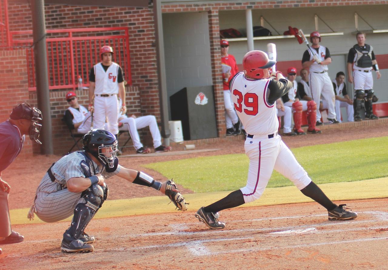 #39 Brad Collins bats on April 8th, 2011.