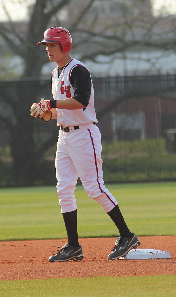 #16 Benji Jackson got a stand-up double in Gardner-Webb's 11-0 victory against Charleston Southern.