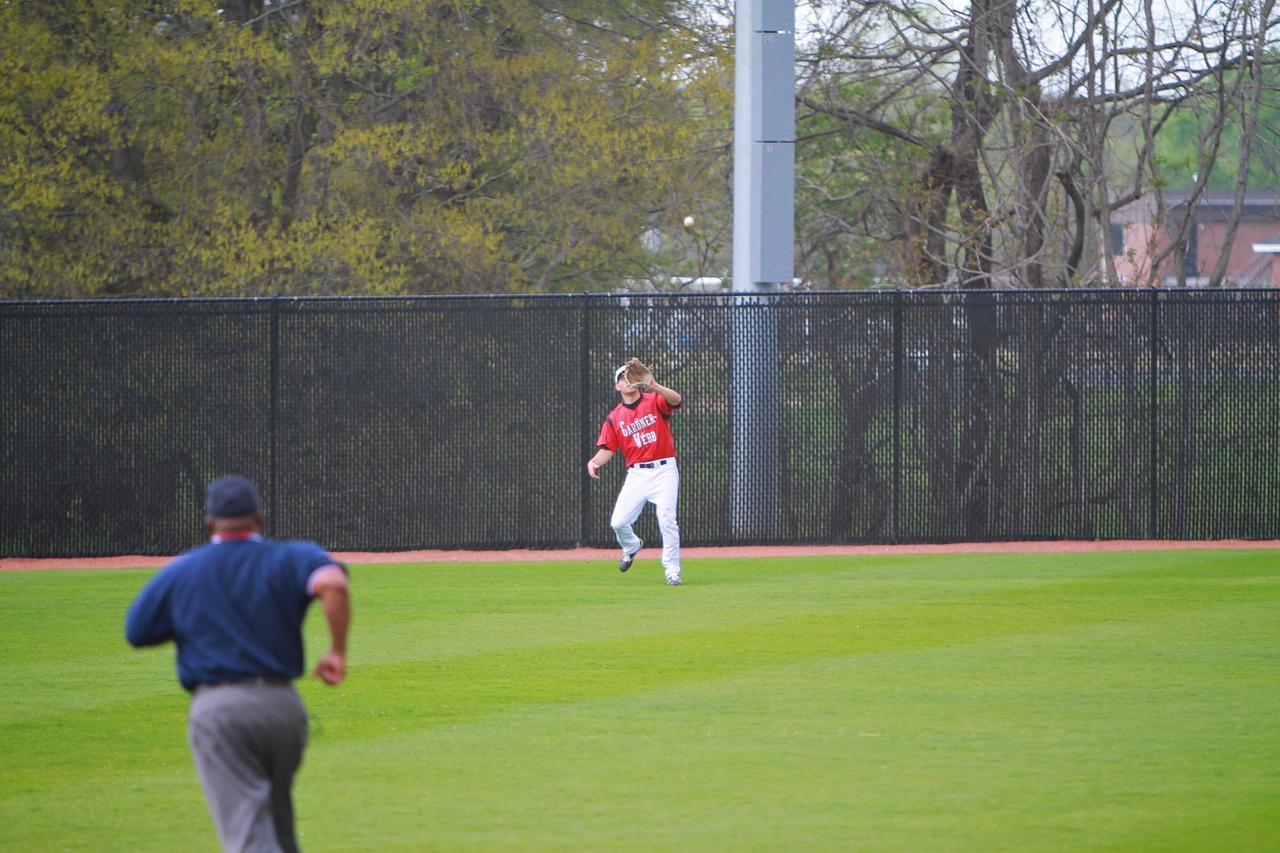 Baseball versus Charleston Southern; April 12, 2011.
