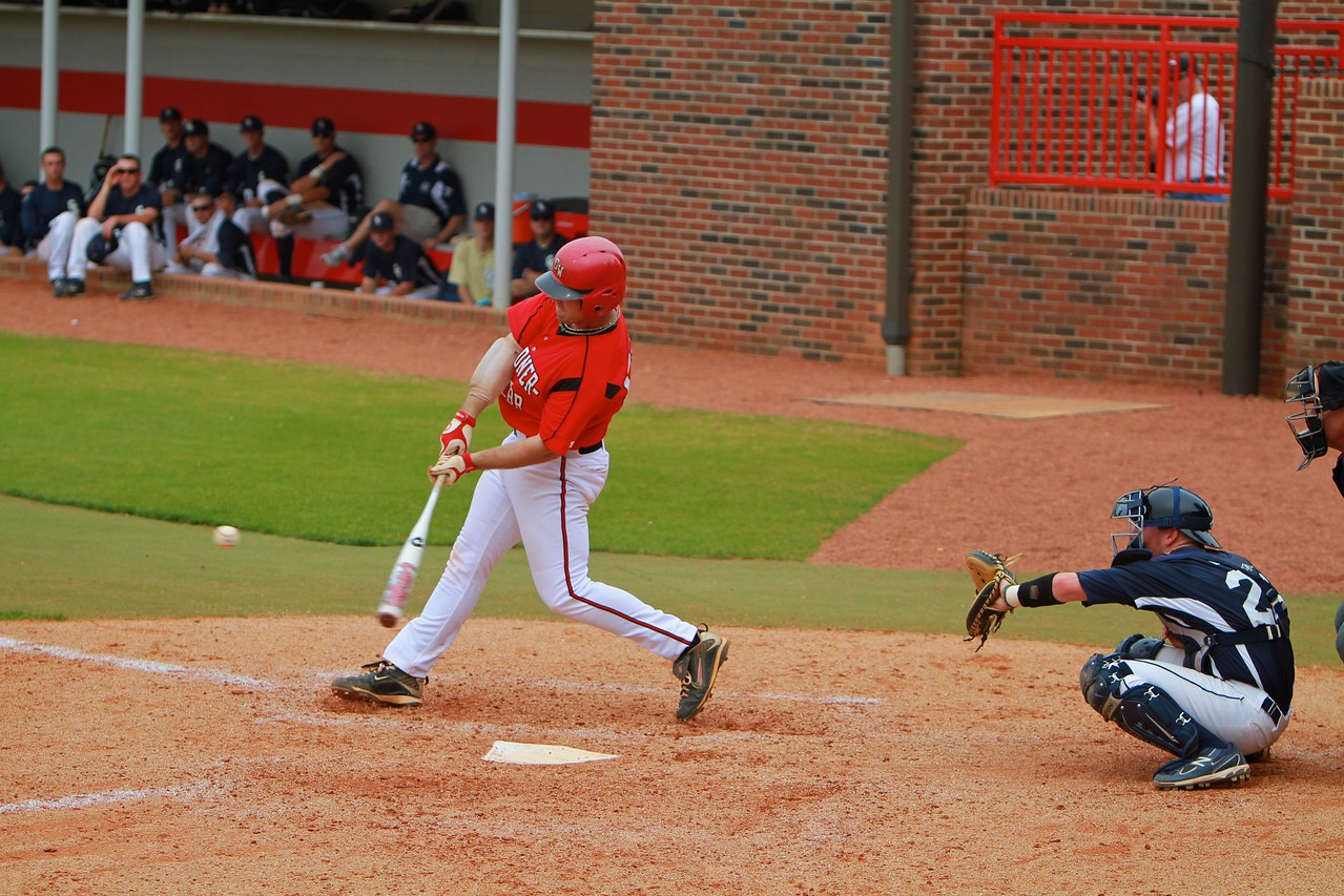 Baseball versus Charleston Southern; April 12, 2011.