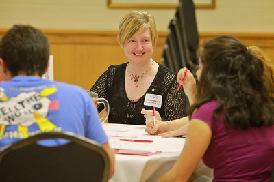 Students attend a career networking workshop presented by the office of Career Services and Alumni Relations.
