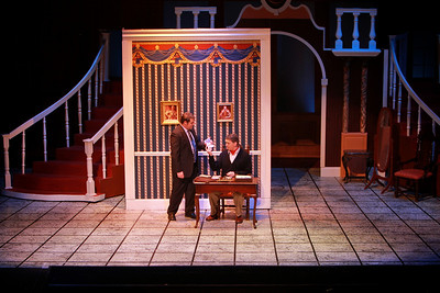 Photos from Gardner-Webb's production of Broadway Musical Dirty Rotten Scoundrels.