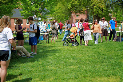 Earth Day celebration on the campus of Gardner-Webb University; April 14, 2011.