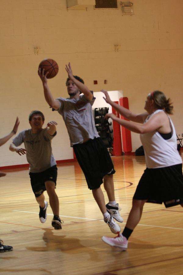 FCA hosts a 3 on 3 basketball tournament.