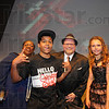 Tribune-Star/Jim Avelis<br /> Headed to Chicago: The four winners Thursday night in the X-Factor contest were Johanna J. Brown, Jalen Polk, Shane Parker and Paiton Roshel.