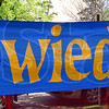 Good-bye: Detail of sign at Strassenfest.