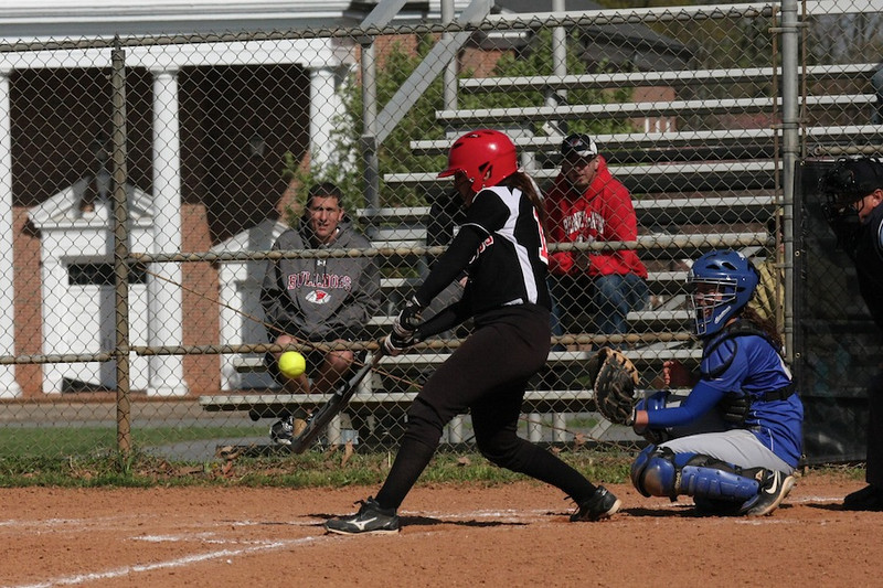 Number 17, McKenzie Morenus, with the hit.