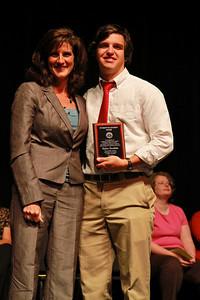 Student Leadership, Service and Volunteerism Recognition Program; Aprl 26, 2011. Student-to-Student Award: Taylor Doolittle