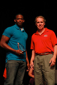 Student Leadership, Service and Volunteerism Recognition Program; Aprl 26, 2011. Volunteer of the Year: Keron Sanchez Phelps