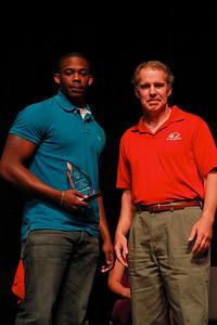 Student Leadership, Service and Volunteerism Recognition Program; Aprl 26, 2011. Volunteer of the Year: Keron Sanchez Phelps