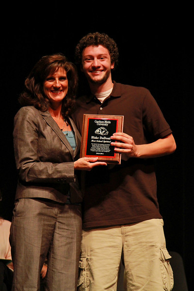 Student Leadership, Service and Volunteerism Recognition Program; Aprl 26, 2011. Most School Spirited Award: Blake DuDonis