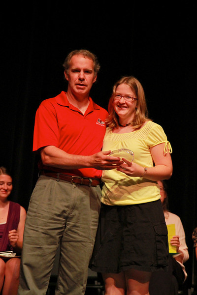 Student Leadership, Service and Volunteerism Recognition Program; Aprl 26, 2011. Volunteer of the Year: Caroline Ritchey