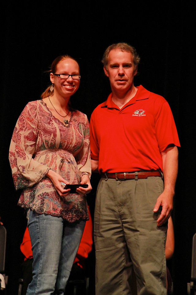 Student Leadership, Service and Volunteerism Recognition Program; Aprl 26, 2011. Volunteer of the Year: Sarah Bunker