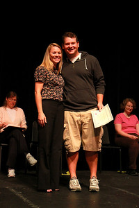 Student Leadership, Service and Volunteerism Recognition Program; Aprl 26, 2011. Pam Scruggs Student-Athlete Advisory Committee Leadership Award: Scott Wheeler