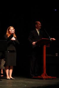 Student Leadership, Service and Volunteerism Recognition Program; Aprl 26, 2011.